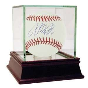 Michael Bourn Signed Baseball   Autographed Baseballs