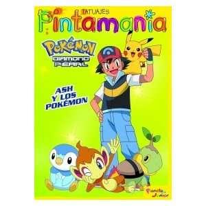 P. Tatuajes. Ash y los Pokémon (9788408076452): Editorial