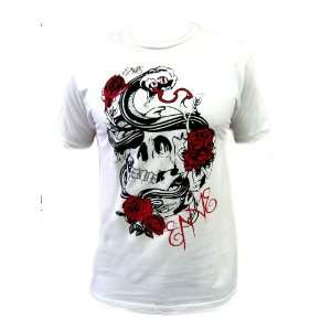 Enve Tattoo Love Mens White T Shirt (SizeXL)  Sports