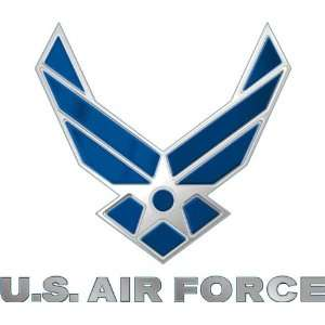 US Air Force Logo Decal Sticker 3.8 6 Pack Everything