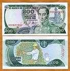 NICE COLOMBIA 1000 PESOS ORO 1979 BANKNOTE ★ GALAN