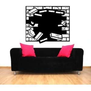 Bricks Vinyl Wall Decal Sticker Graphic By LKS Trading Post