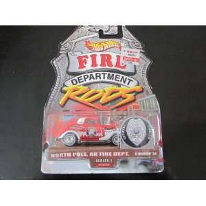 Hot Wheels 3 window 34 2000 Fire Rods Series 1 North Pole