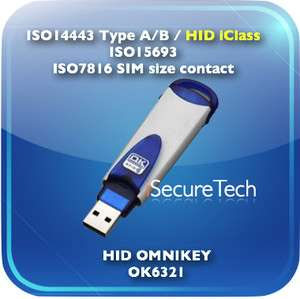 OMNIKEY 6321 USB Contactless Card Reader by iSecureTech