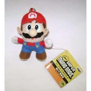 MARIO BROS. Super Mario 3.5 inches Plush Key Chain Toys