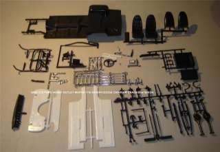Model kit Lot/CHASSIS/Frame/Susp/Interior 1/16 MOPAR DODGE CHARGER BIG