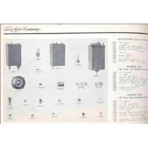 com Reprint Ford Motor Company; Splitdorf coil 08 type; Heinze coil