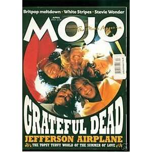 MAGAZINE   APRIL 2003 ISSUE     GRATEFUL DEAD COVER MOJO Books