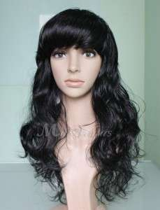 Colors (US Stock) NWT Super Sexy Womens Long Wavy Synthetic Full Wig