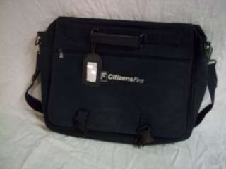 Used Citizens First lap top soft brief case bag