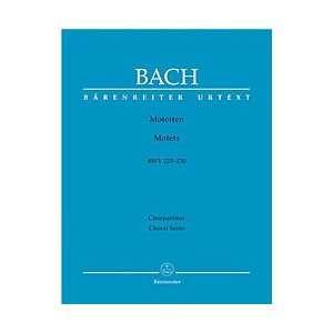 Motetten BWV 225 230, Partitur (9790006498482): Johann S