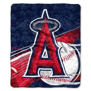 Los Angeles Angels Super Soft Sherpa Blanket Sports