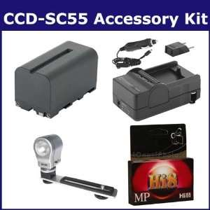 Sony CCD SC55 Camcorder Accessory Kit includes HI8TAPE Tape/ Media