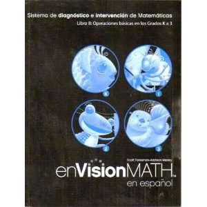 para) (9780328375790): enVisionMath en espanol Texas: Books