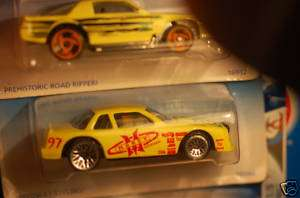 1996 Hot Wheels Buick Stocker Yellow #472 with tampos