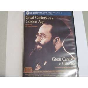 Great Cantors of the Golden Age  Great Cantors in Cinema