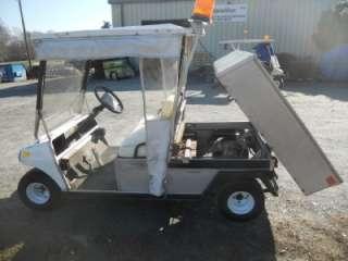 00 CLUB CAR CARRYALL 2 GOLF CART CAR 48V WITH DUMP BED ROLL DOWN
