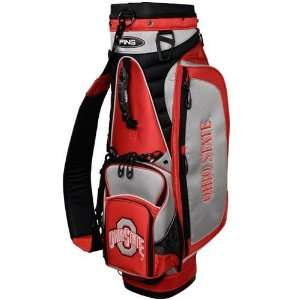 Ohio State Buckeyes Scarlet Ping Explore Golf Cart Bag
