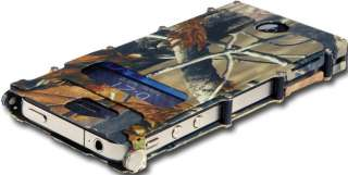 iNOX iPHONE 4 STAINLESS STEEL PROTECTIVE CASE    REALTREE CAMO COLOR