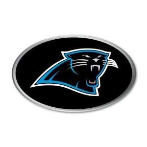 Carolina Panthers NFL Football Team Color and Chrome Decal