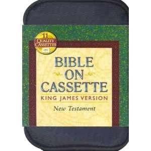 Cassette   New Testament 11 Cassettes   Blue Carrying Case Stephen