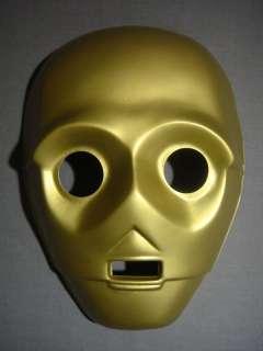 STAR WARS C 3PO DROID HALLOWEEN MASK PVC NEW