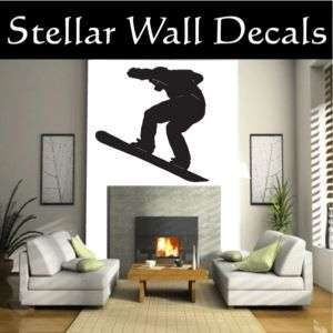 Snowboard Sport Wall Car Vinyl Decal Sticker ST011