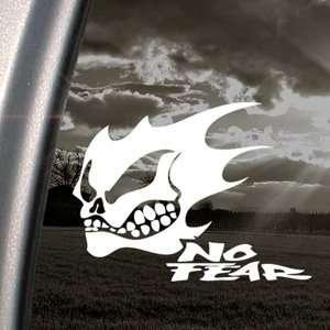 NO FEAR GHOST SKULL LOGO Decal Truck Window Sticker