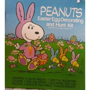 Beagle & Woodstock Easter Egg Decorating & Hunt Kit: Toys & Games