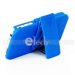 Slide Series Skin Case Belt Clip Holster with Stand for Apple iPhone