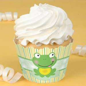 Froggy Frog   Birthday Party Cupcake Wrappers: Toys