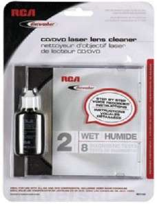 RCA DISCWASHER/RD1142; CD/DVD Laser Lens Cleaner 079000327905