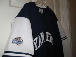 New York Yankees Starter Jersey 2003 World Series Patch Large L Derek