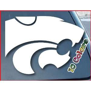 Kansas City Chiefs Car Window Vinyl Decal Sticker 7 Wide