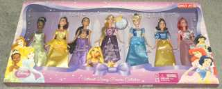 Princess Collection Doll Set w Rapunzel, Snow White, Jasmine NEW
