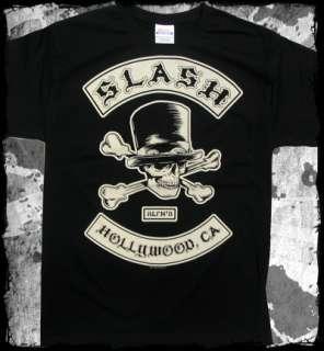Slash   Biker Patch guns n roses   official t shirt   FAST SHIPPING