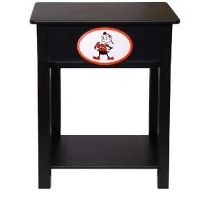 Fan Creations Cleveland Browns Logo Night Stand/Side Table