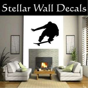 Skateboarding Wall Car Vinyl Decal Sticker ST002