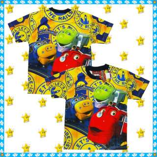CHUGGINGTON Train Kids Baby Boys Clothes toy Top Tshirt