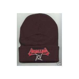 METALLICA Beanie HAT SKI CAP Black Brown Blue NEW pa2