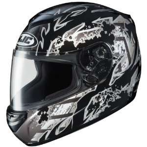 HJC CS R2 Skarr Full Face Motorcycle Helmet Black