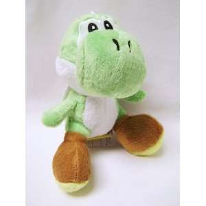 Mario Bro 6 inch Green Yoshi Plush Doll Toys & Games