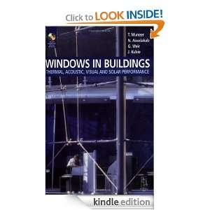 Windows in Buildings: J. Kubie, Tariq Muneer, N. Abodahad: