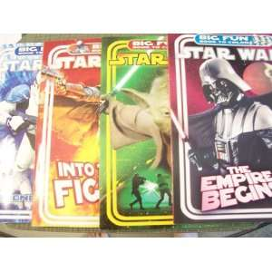 Star Wars Big Fun Book to Color ~ Set of 4 (Empire, Fight