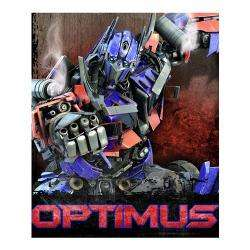Transformers Optimus Prime Ultra Soft Fleece Blanket Throw 50 x60