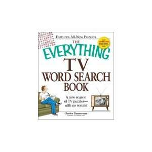 The Everything TV Word Search Book Charles Timmerman Books