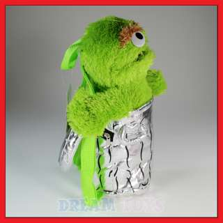 15 Sesame Street Oscar the Grouch Plush Backpack
