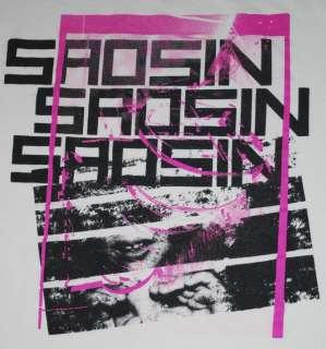 SAOSIN SHIRT HARD CORE ROCK 2007 MED