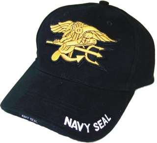 Navy Seal Deluxe Low Profile Insignia Hat Cap NEW