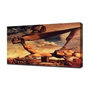 Salvador Dali Civil War   Canvas Art   Framed Size 40x60   Ready To